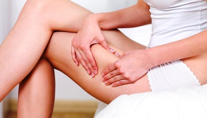 массаж против жира на животе