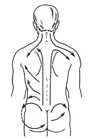 Как сделать массаж спины