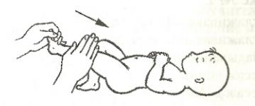 Поглаживающий массаж ног