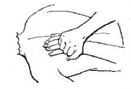 Массаж двумя руками