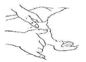 Растирание большими пальцами