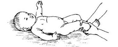 кольцевое растирание ног