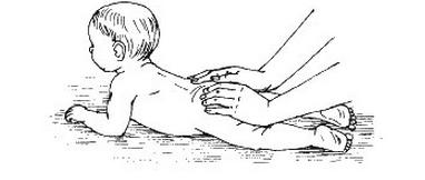 растирание подушечками пальцев