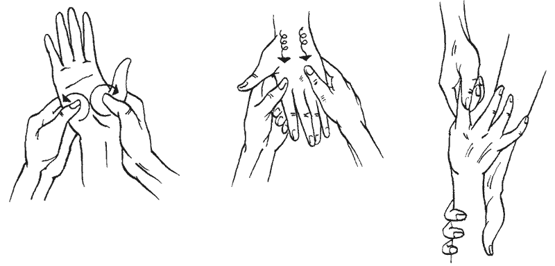 Ароматерапевтический массаж рук