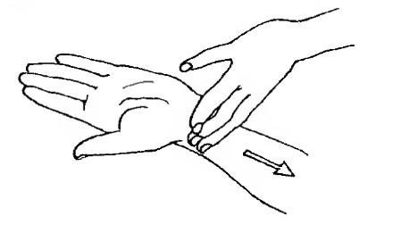 Бодрящий массаж рук