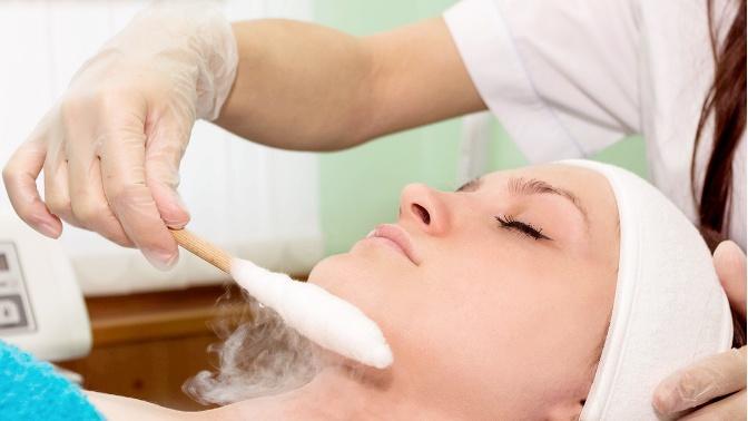 массаж жидким азотом