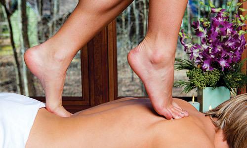 Турецкий массаж ногами