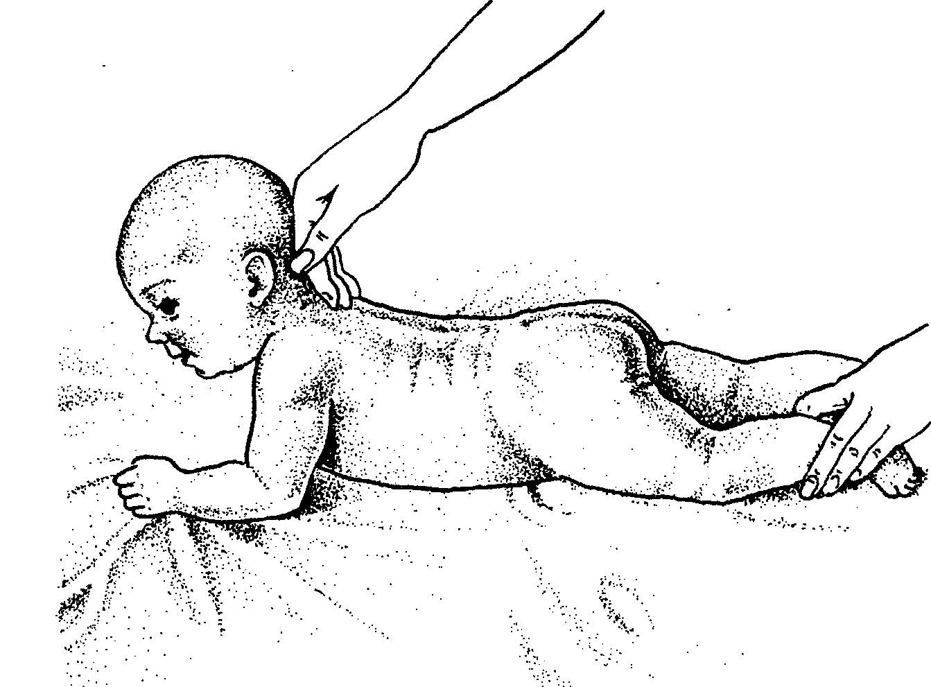 Поглаживание спины