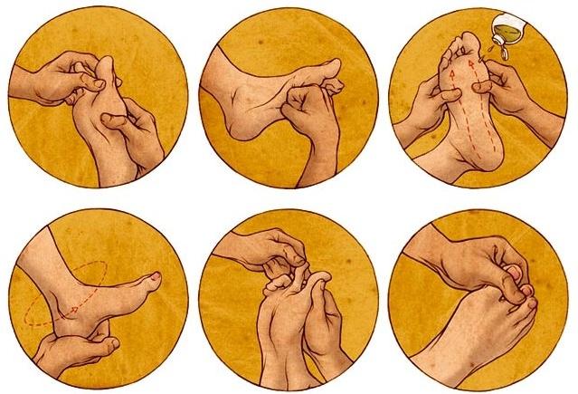 Техника тайского массажа стоп